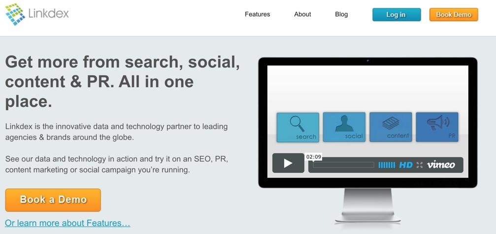 16.03 - Linkdex Website