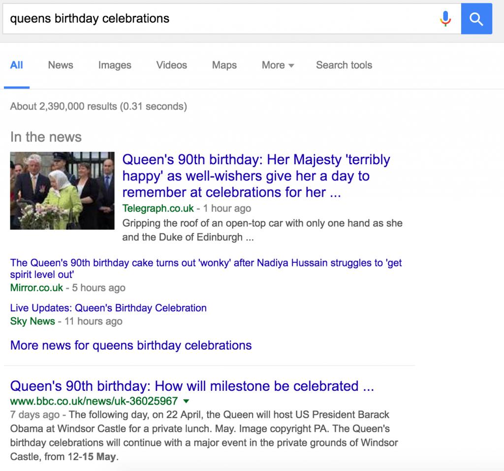 queen birthday celebrations desktop